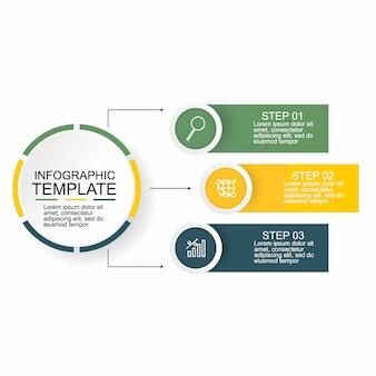 Concept créatif pour infographie.
