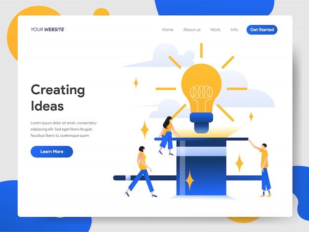 Concept de création d'idées