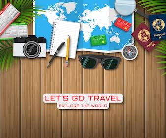 Concept de voyage et de vacances
