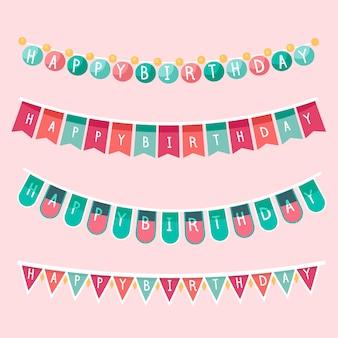 Concept de décoration d'anniversaire