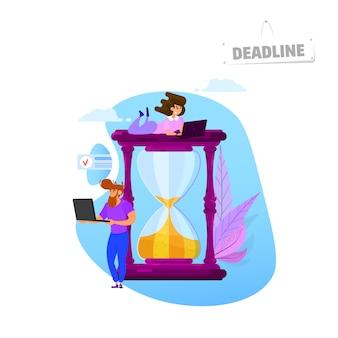 Concept de délai