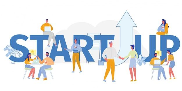 Concept de démarrage d'entreprise