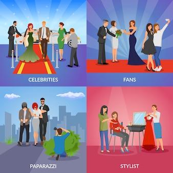 Concept de design celebrity 2x2