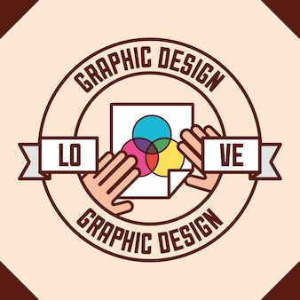 Concept de design graphique