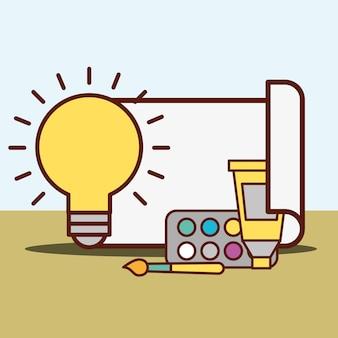 Concept de design graphique