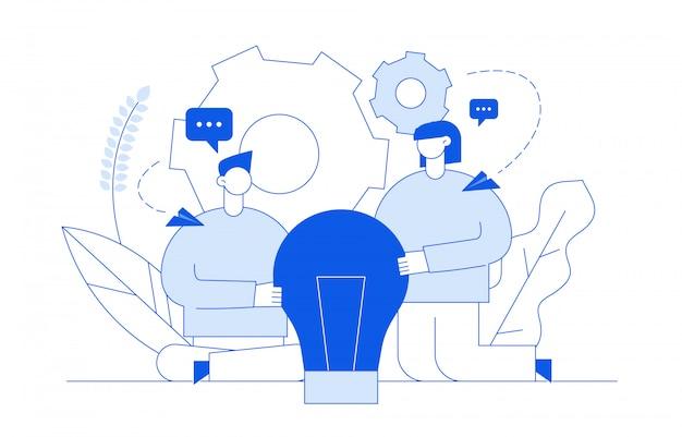 Concept de design d'idée