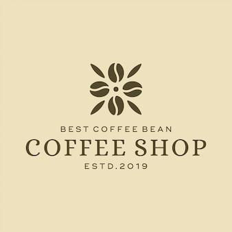 Concept de design de logo de café. conception universelle de café.