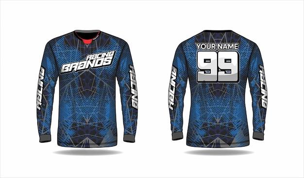 Concept de design de maillot de sport