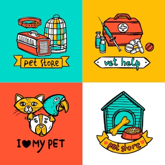 Concept de design vétérinaire