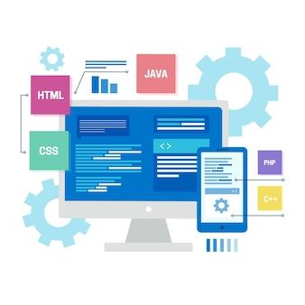 Concept de développement d'applications