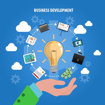 Concept de développement commercial