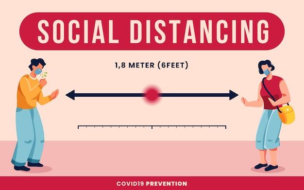 Concept de distanciation sociale