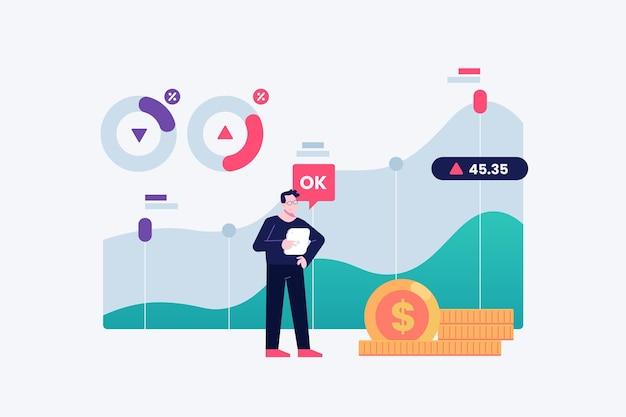 Concept de données boursières