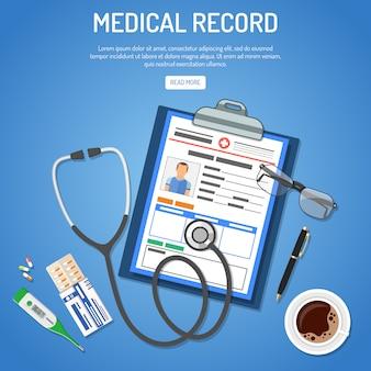 Concept de dossier médical