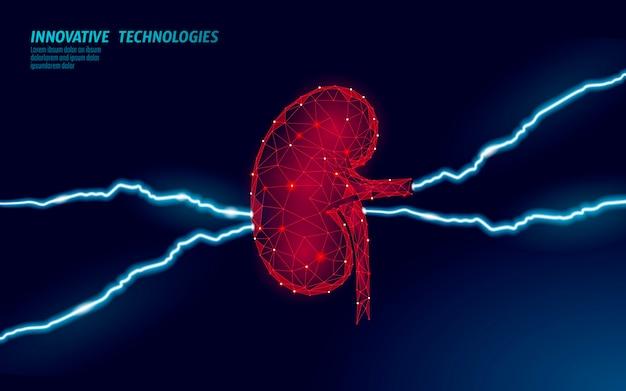 Concept douloureux d'hydronéphrose de maladie chronique des reins humains. traitement de thérapie d'aide médicale. modèle d'affiche de médecine de prévention de l'analyse de la douleur de l'abdomen du cancer du système urinaire. illustration.