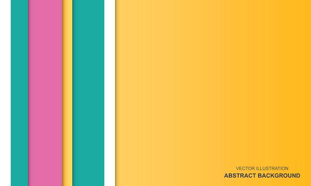 Concept doux de fond abstrait coloré