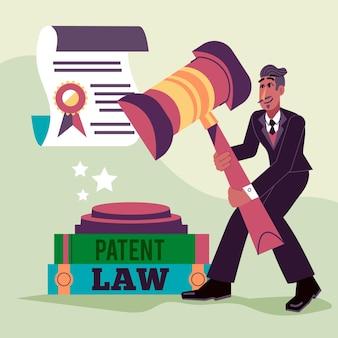 Concept de droit des brevets
