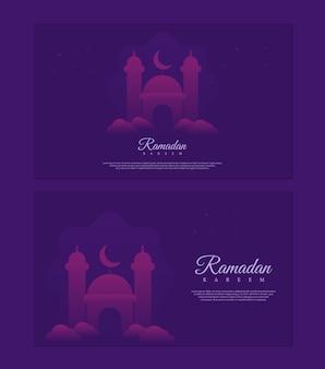 Concept du ramadan kareem