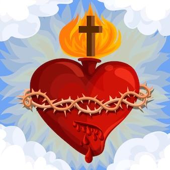 Concept du sacré-coeur