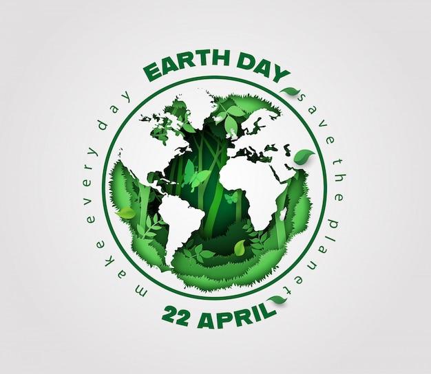 Concept d'écologie et d'environnement