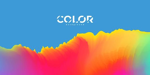 Concept d'écologie de fond dégradé coloré pastel abstrait pour votre conception graphique,