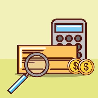 Concept d'économie d'argent