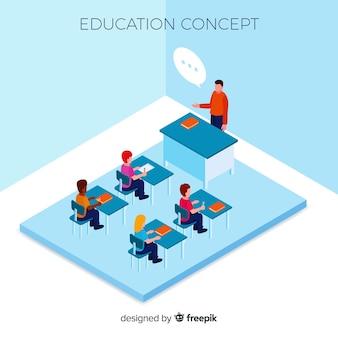 Concept d'éducation isométrique