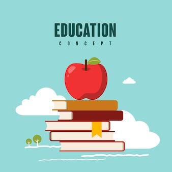 Concept d'éducation de simplicité dans le style