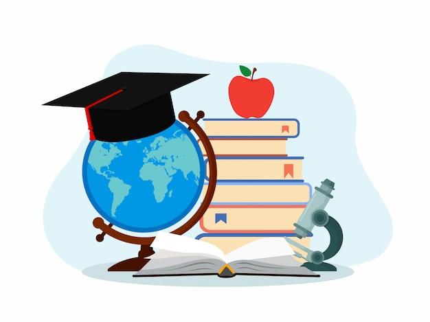 Concept d'éducation.