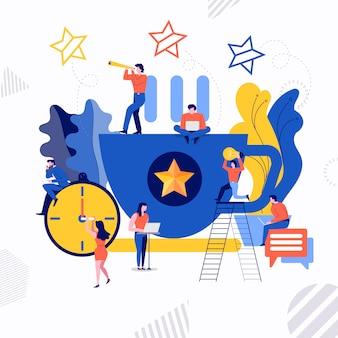 Concept d'entreprise illustration vectorielle.