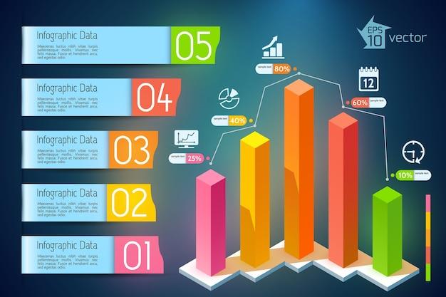 Concept d & # 39; entreprise infographique
