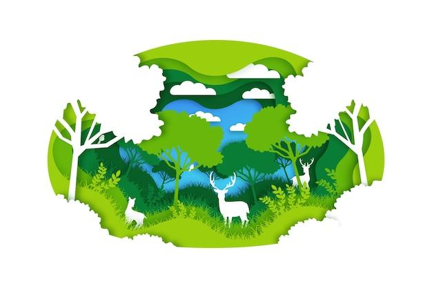 Concept environnemental dans la conception du papier