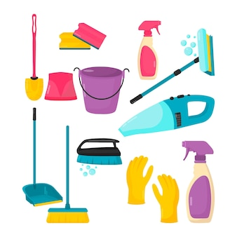 Concept d'équipement de nettoyage de surface