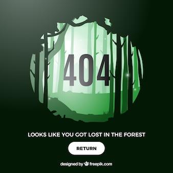 Concept d'erreur 404