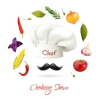 Concept d'exposition de cuisine