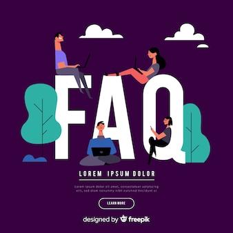 Concept de faq