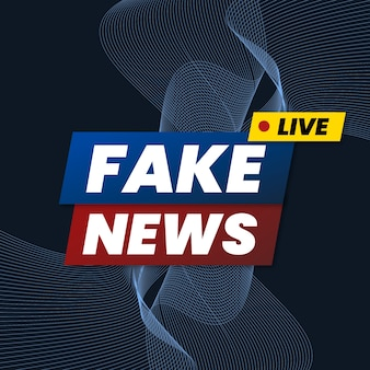 Concept de faux flux de nouvelles