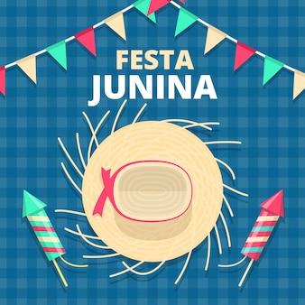 Concept festa junina plat
