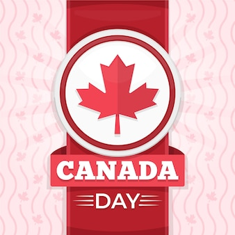 Concept de la fête du canada