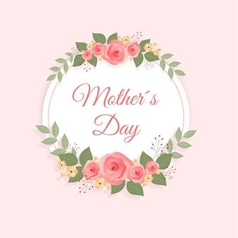 Concept de fête des mères floral