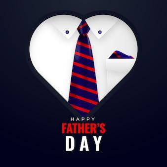 Concept de fête des pères réaliste