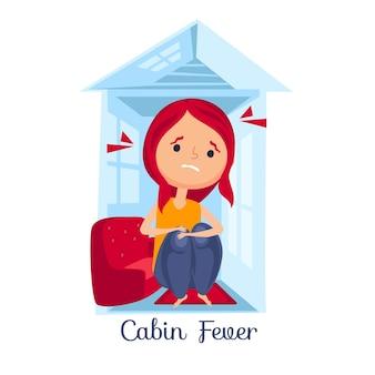 Concept de fièvre de cabine