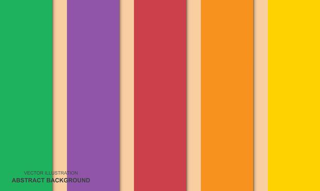 Concept de fond abstrait design moderne coloré
