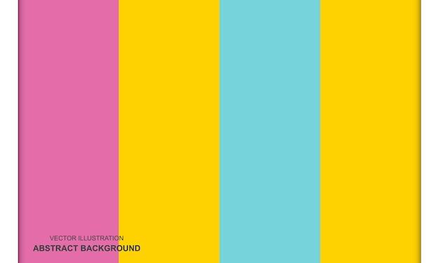 Concept de fond abstrait moderne coloré