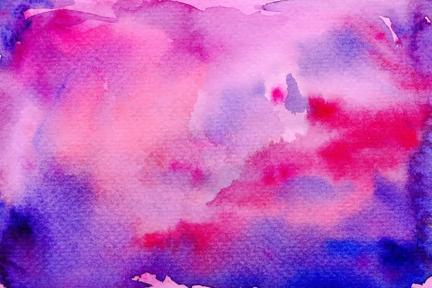 Concept de fond aquarelle