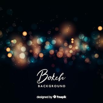 Concept de fond créatif bokeh floue