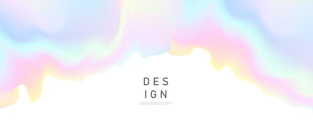 Concept de fond dégradé coloré pastel abstrait pour votre conception graphique colorée, modèle de conception de mise en page pour brochure