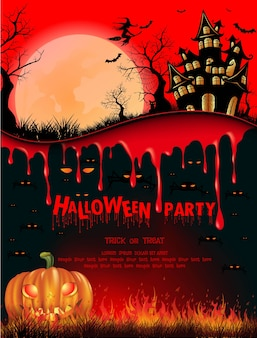 Concept de fond festival halloween