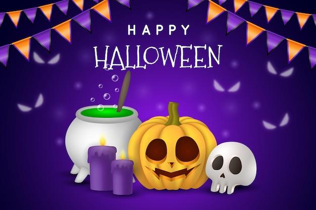 Concept de fond halloween