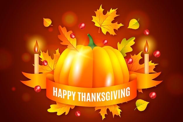 Concept de fond de jour de thanksgiving